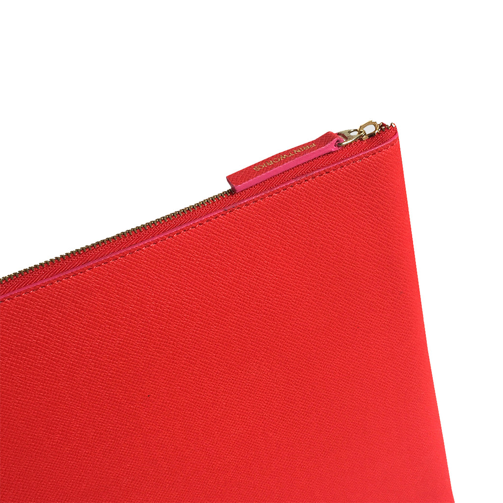 RED/CERISE LAPTOP CASE 10-12 INCH