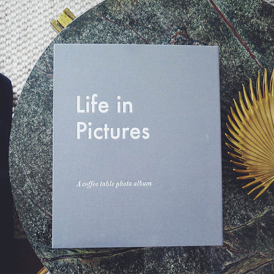 LIFE IN PICTURES - Coffee Table Photo Album