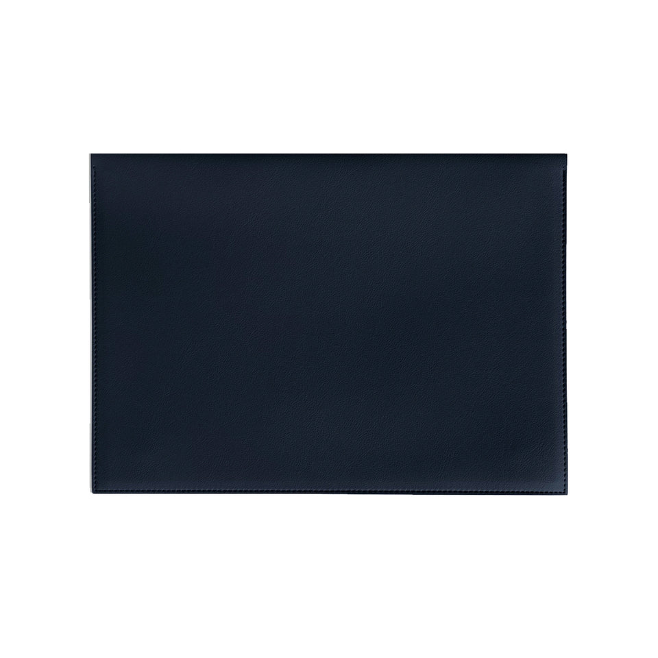 "LARGE 13"" MINIMALIST FOLIO IN NAVY"