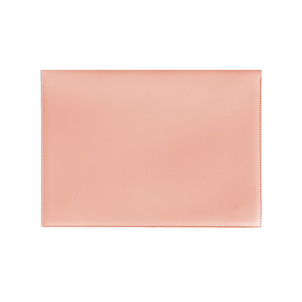 "LARGE 13"" MINIMALIST FOLIO IN BLUSH"