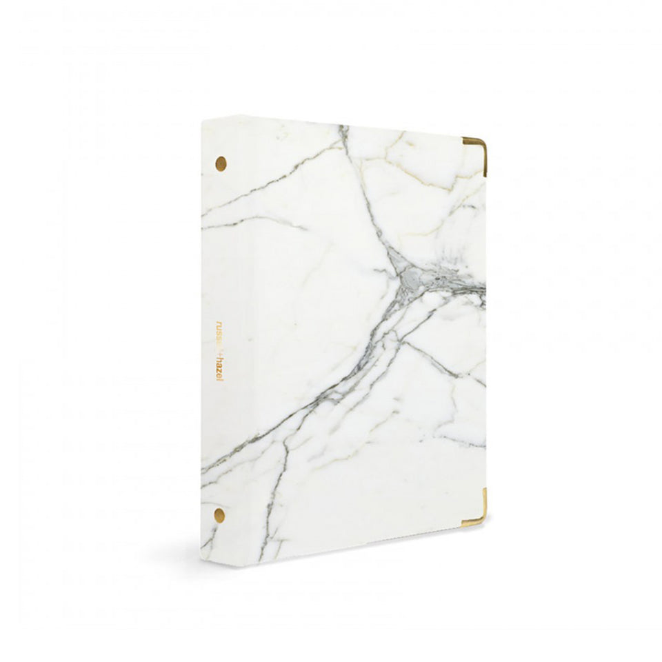 MARBLE PATENT MINI BINDER