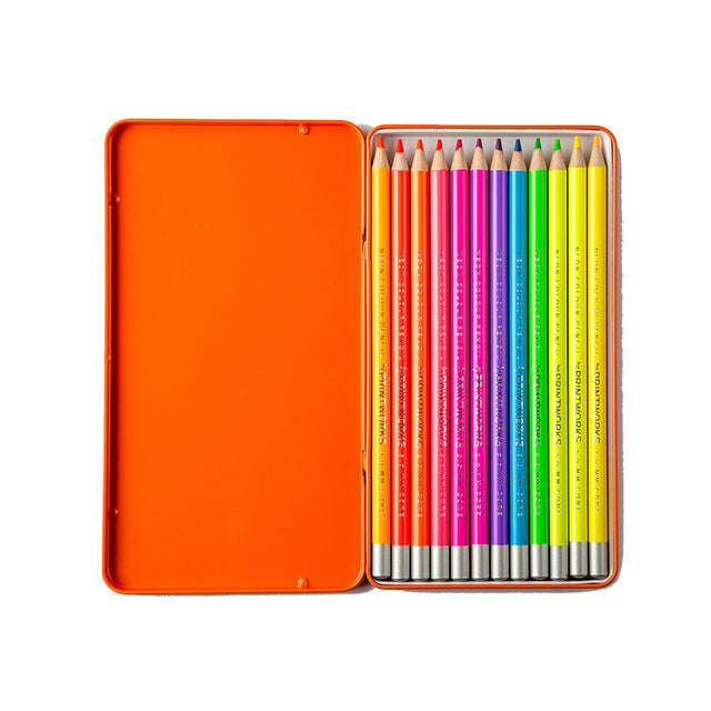 12 NEON COLOR PENCILS