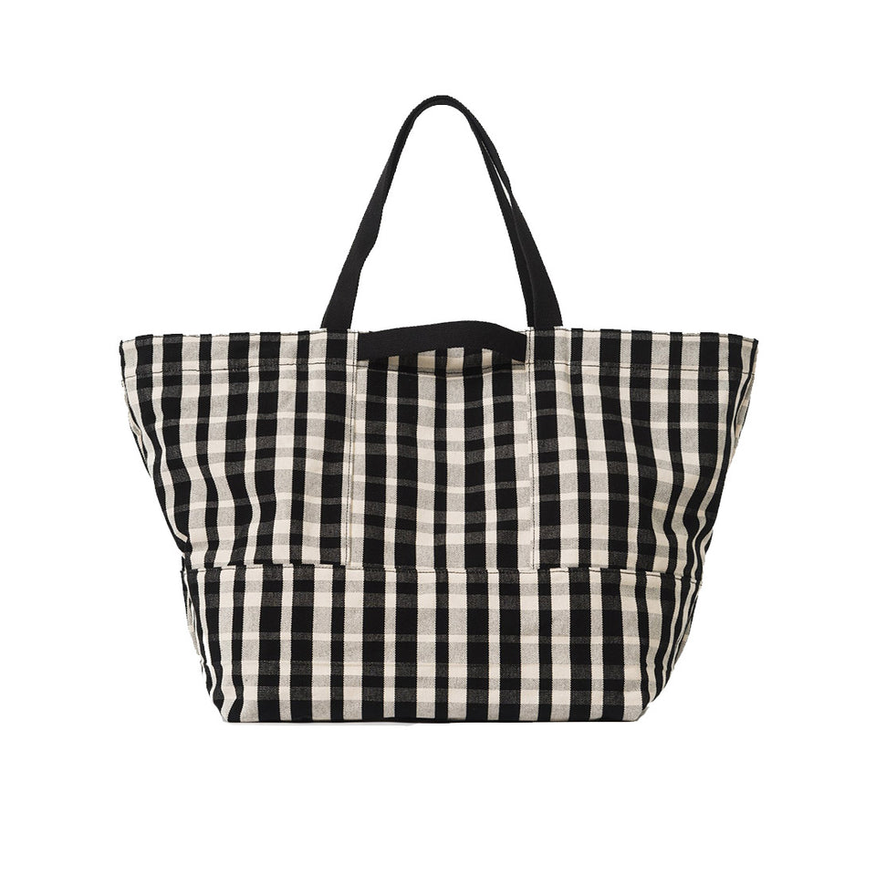 PLAID WEEKEND BAG