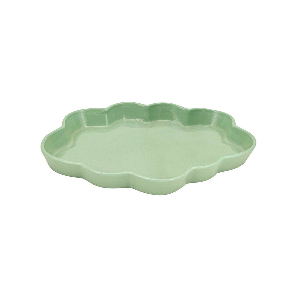 PALE GREEN TRAY CLOUD