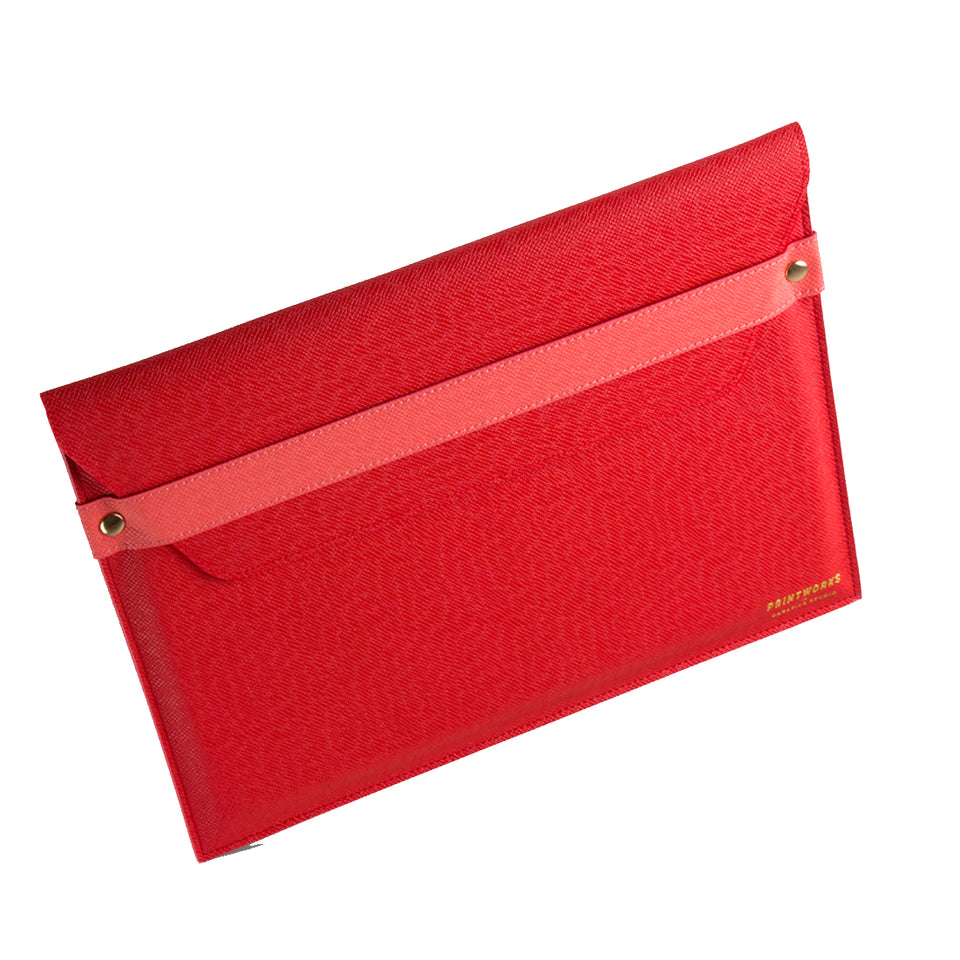 RED/PINK ENVELOPE LAPTOP CASE 13 INCH