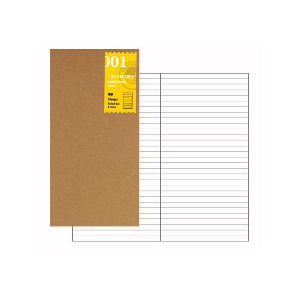 TRAVELER'S NOTEBOOK // REFILL 001 LINED NOTEBOOK