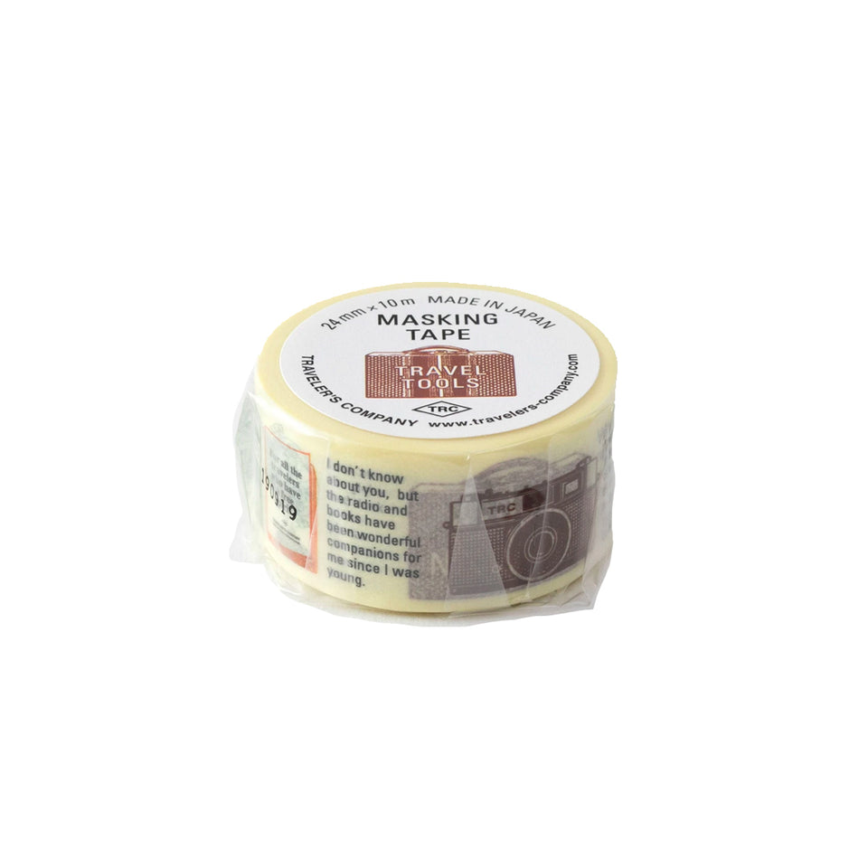 TRAVEL TOOLS MASKING TAPE (LIMITED EDITION)