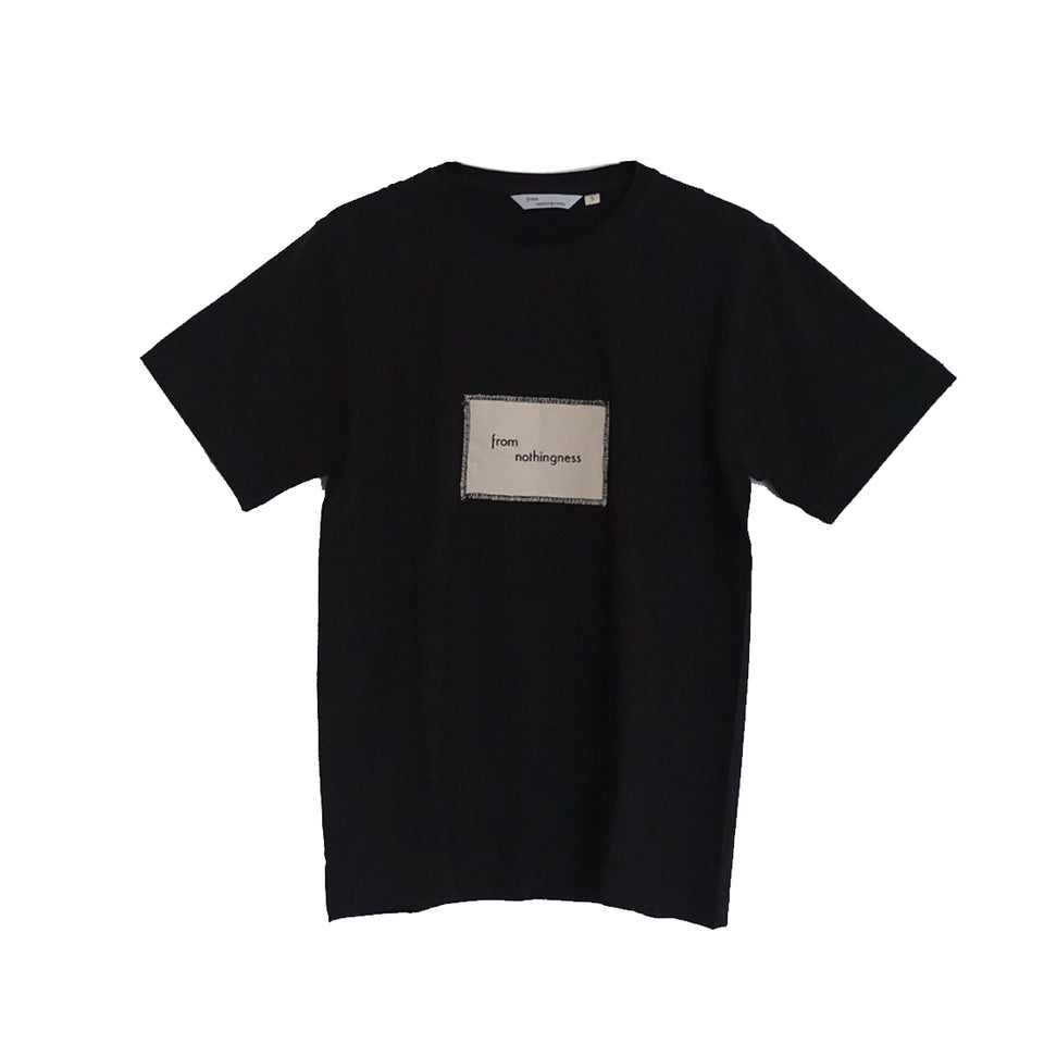 FROM NOTHINGNESS BLACK T-SHIRT