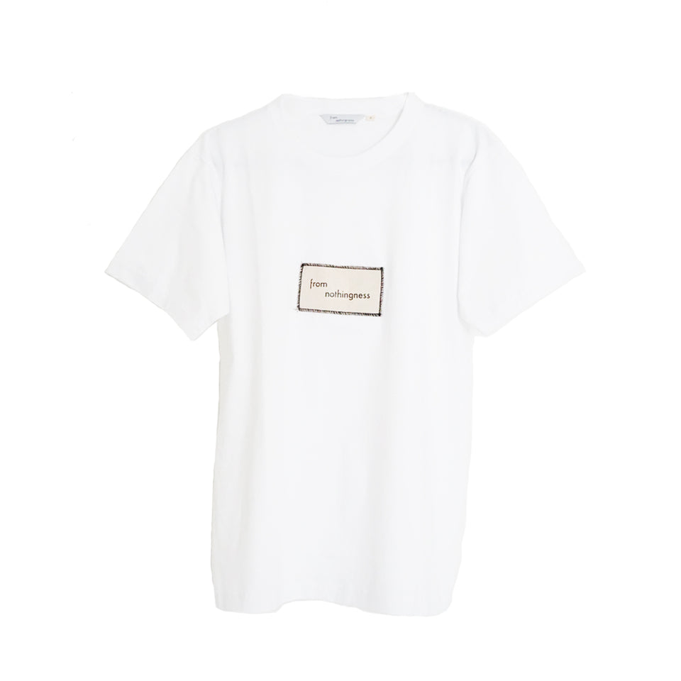 FROM NOTHINGNESS WHITE T-SHIRT