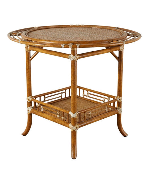 McGuire Round Side Table