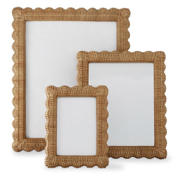 Wicker Picture Frames