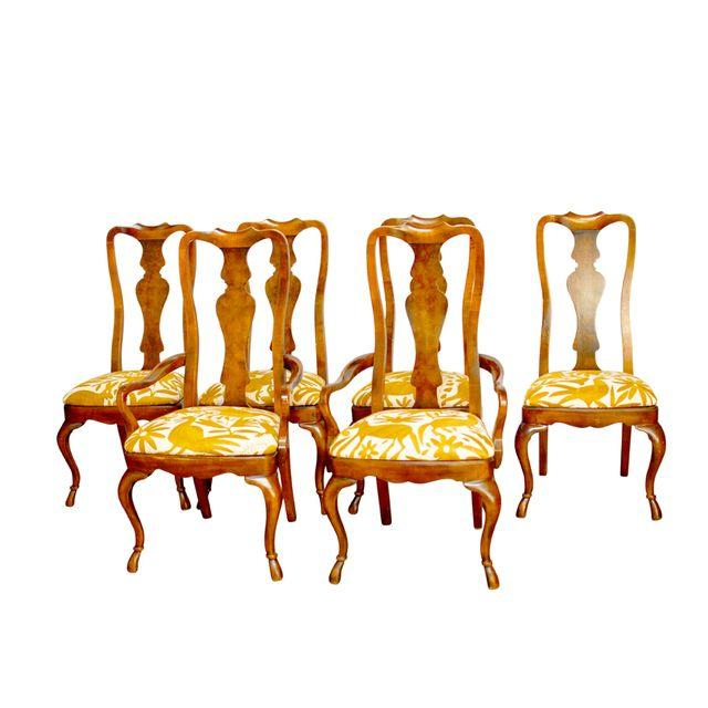 Set of 6 Drexel Connoisseur Dining Chairs