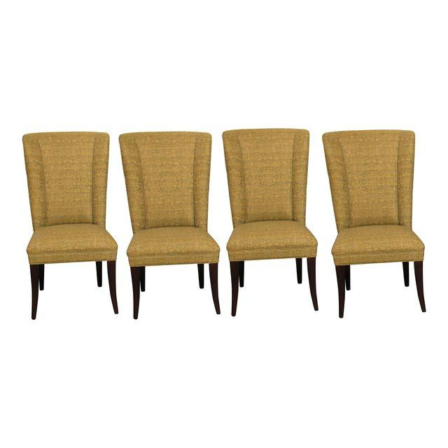 Set of 4 Mitchell Gold Dining Chairs