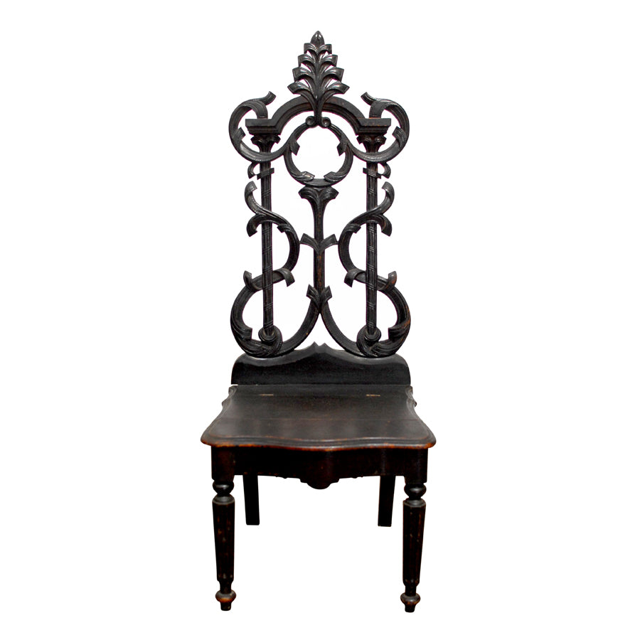 19th Century Rococo German Hall Chair