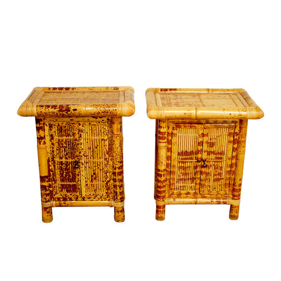 Tortoise Shell Nightstands
