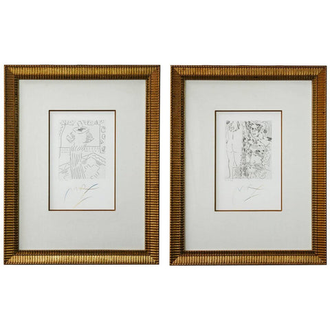 Pair of Etchings by Peter Max V3 X and XI