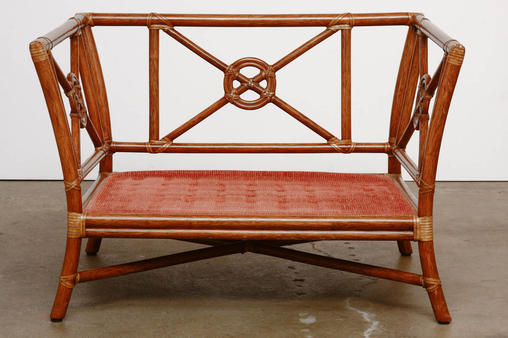 Bon ... McGuire Rattan Target Design Lounge Chair ...