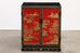 Chinese Export Lacquered Cabinet or Chest