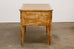 Neoclassical Leather Top Desk with Scraped Lacquer Finish