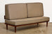 Pair of Midcentury Daybeds with Wedge Cushions