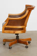 Maple Executive Office Desk Chair by Leathercraft