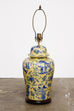 Porcelain Chinoiserie Ginger Jar Lamp by Kinder Harris