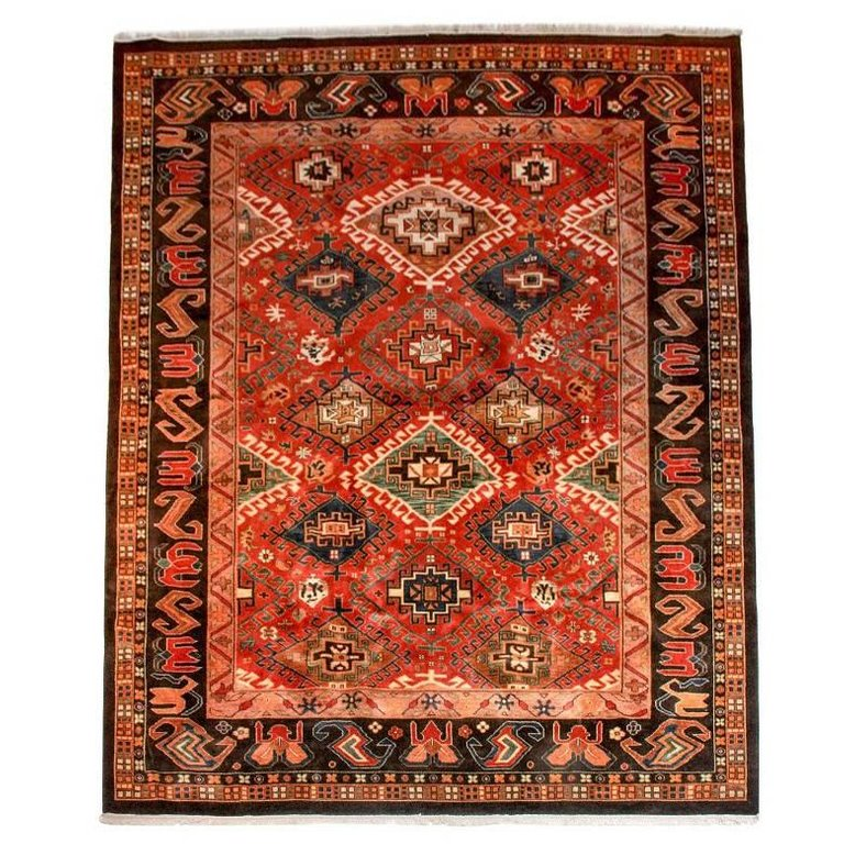 Indo-Persian Shiraz with Modern Tribal Design