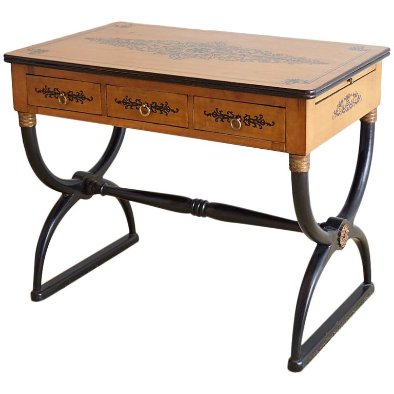 French Charles Desk Writing Table