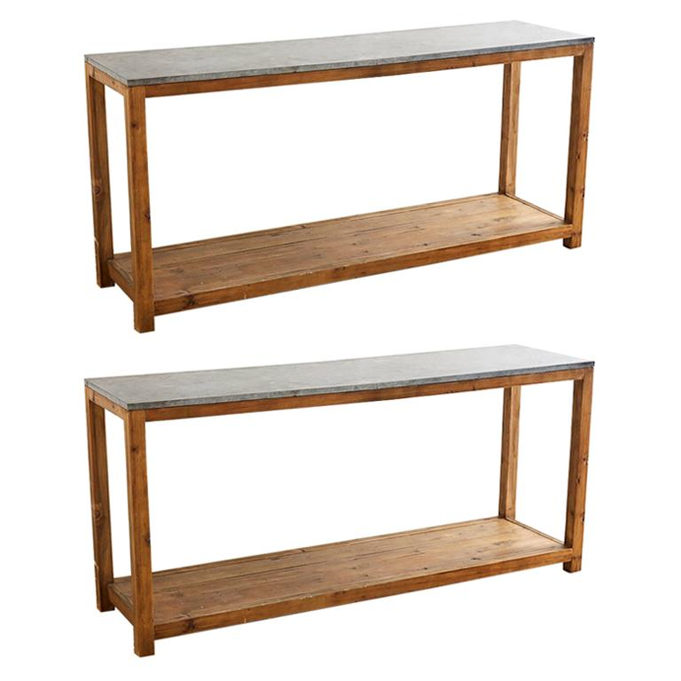 Natural Console Tables