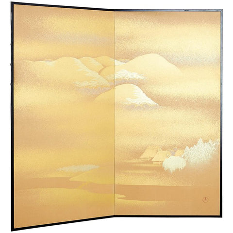 Japanese Screen by Yoshikawa
