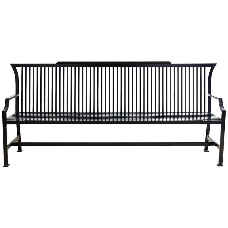 Contemporary Aluminum Bench or Settle