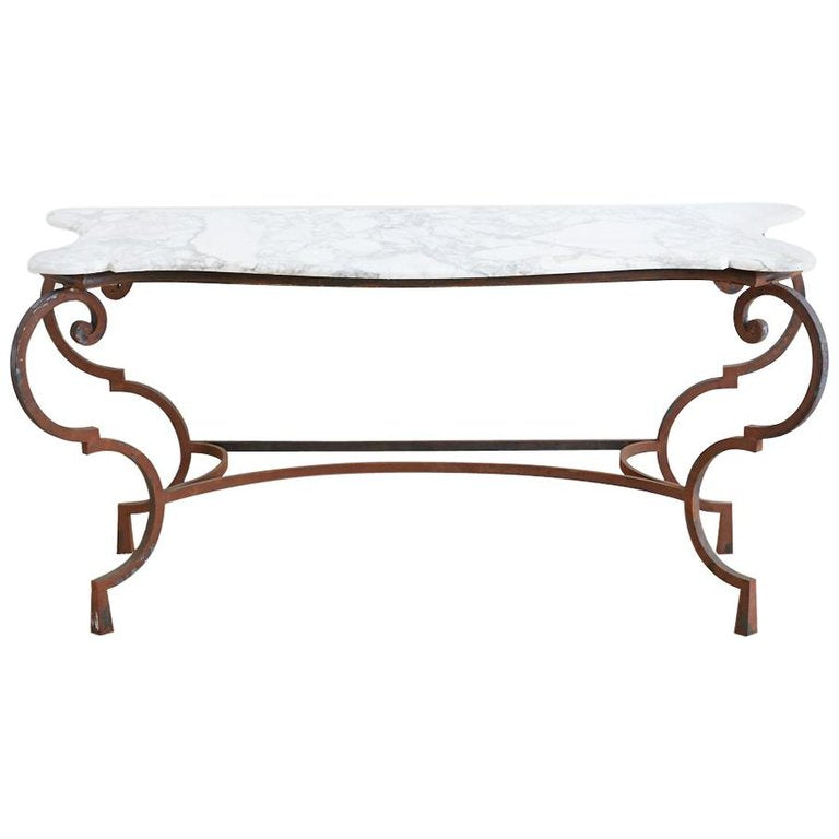 Carrara Marble Console Table
