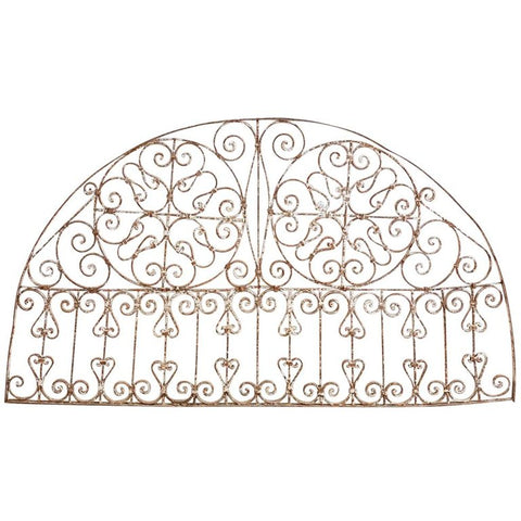 French Iron Window Grille