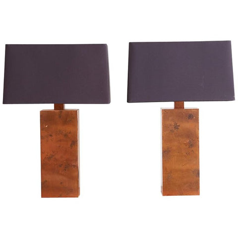 Patinated Copper Lamps by Arteriors Tanner Kenzie