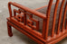 Pair of Chinese Rosewood Carved Sofas or Benches