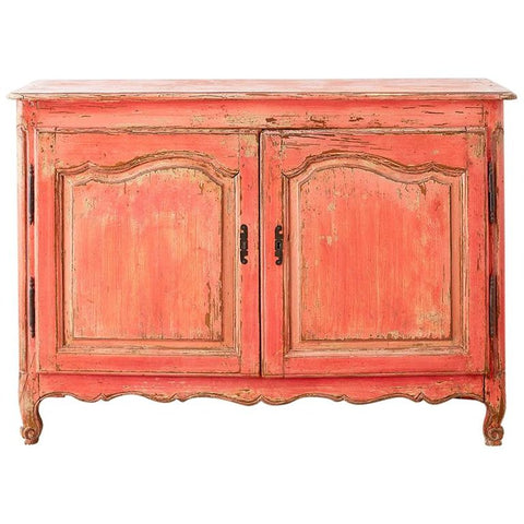 18th Century Louis XV Painted Provincial Buffet or Sideboard