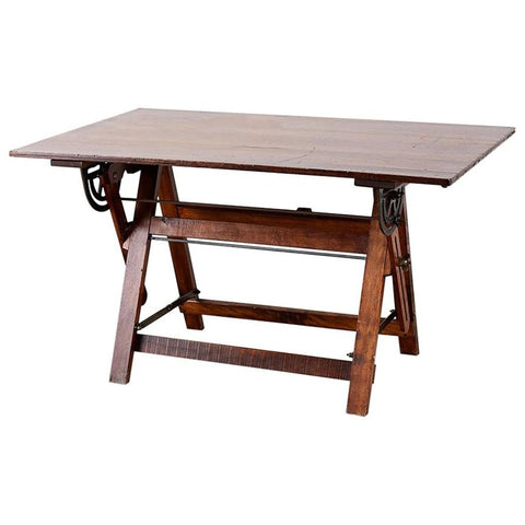 American Folding Drafting Table or Writing Table