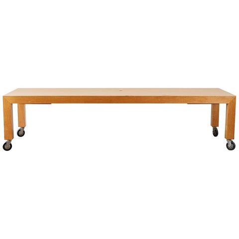 Industrial Style Rolling Conference Table or Retail Display