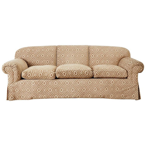 Jonas New York English Style Three-Seat Sofa