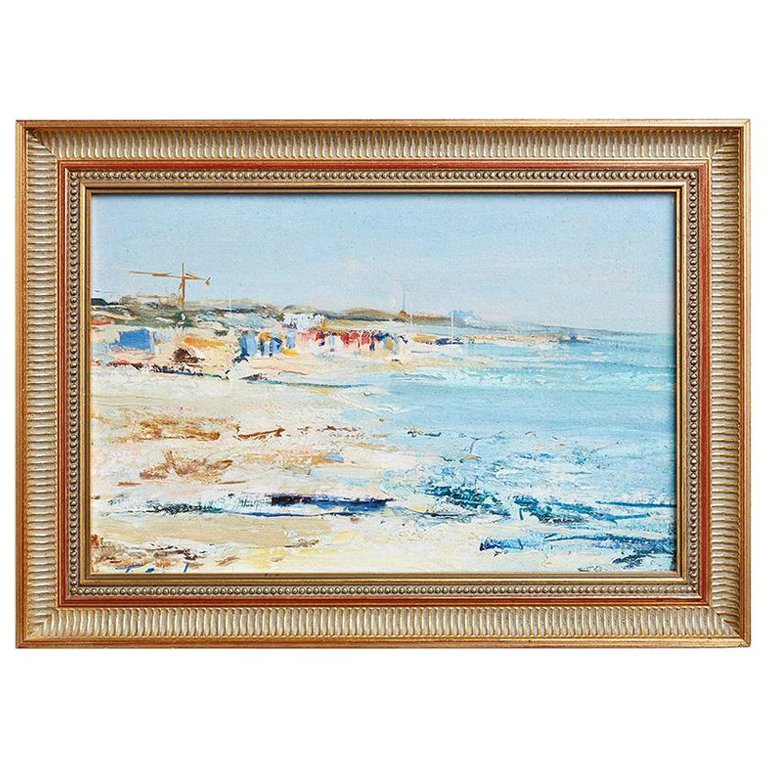 T. Scola Coastal Painting Oil