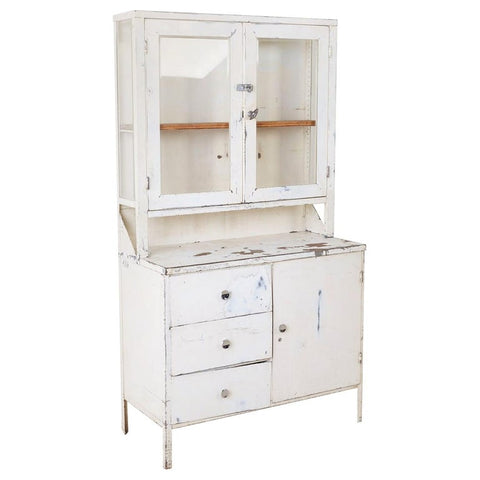 Industrial Steel Naval Apothecary Medical Cabinet