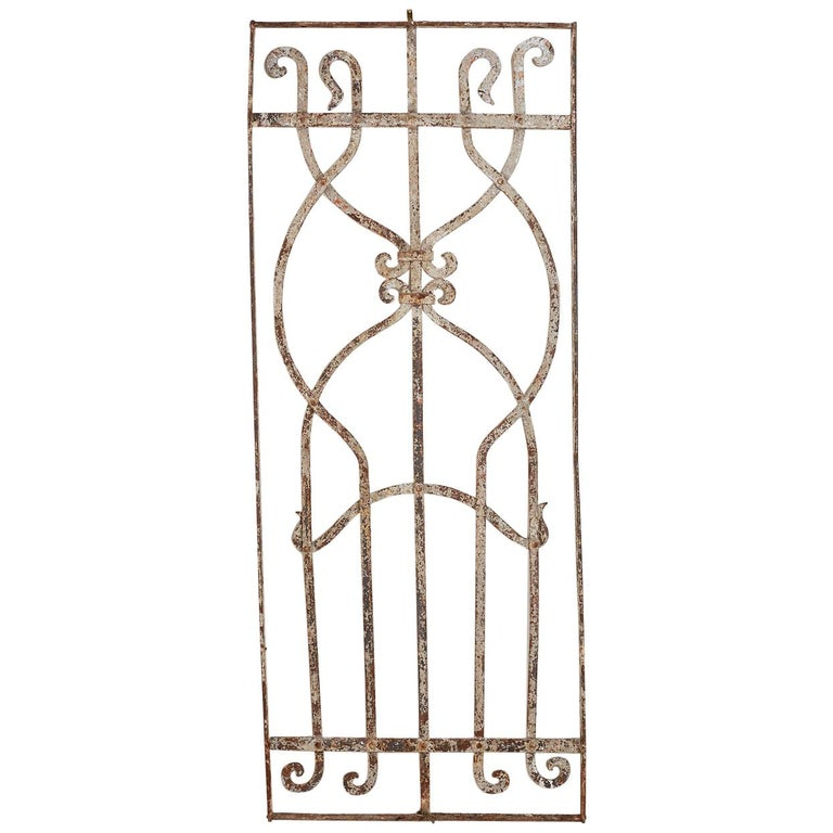 Greek Style Architectural Iron Window Grill