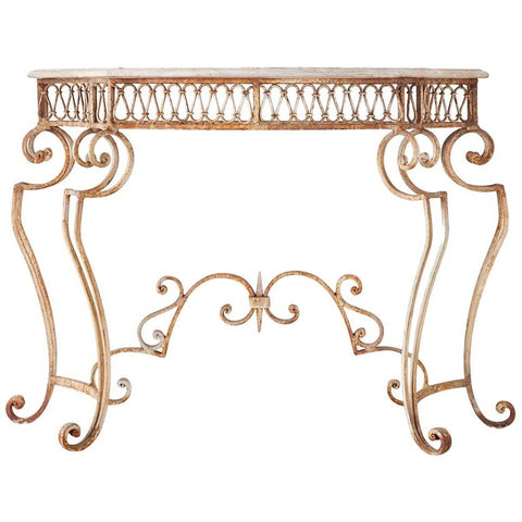 French Console Table