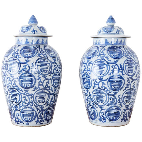 Porcelain Ginger Jars