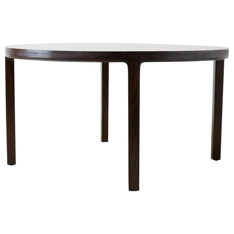 McGuire Round Cerused Oak Dining or Centre Table