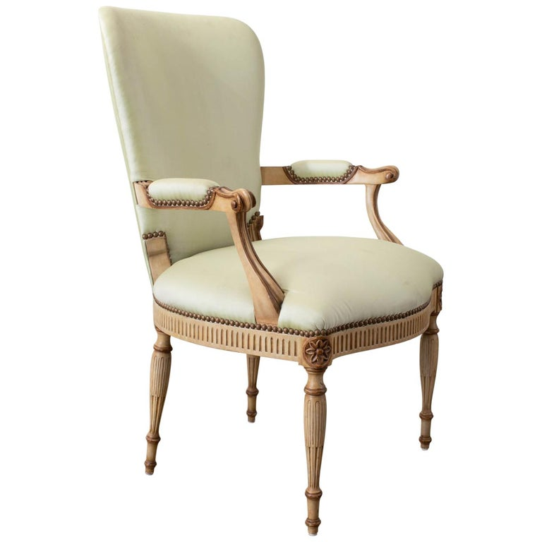 Michael Taylor Design French Style Fauteuil Armchair