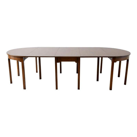 Kittinger Georgian Style Mahogany Banquet Dining Table