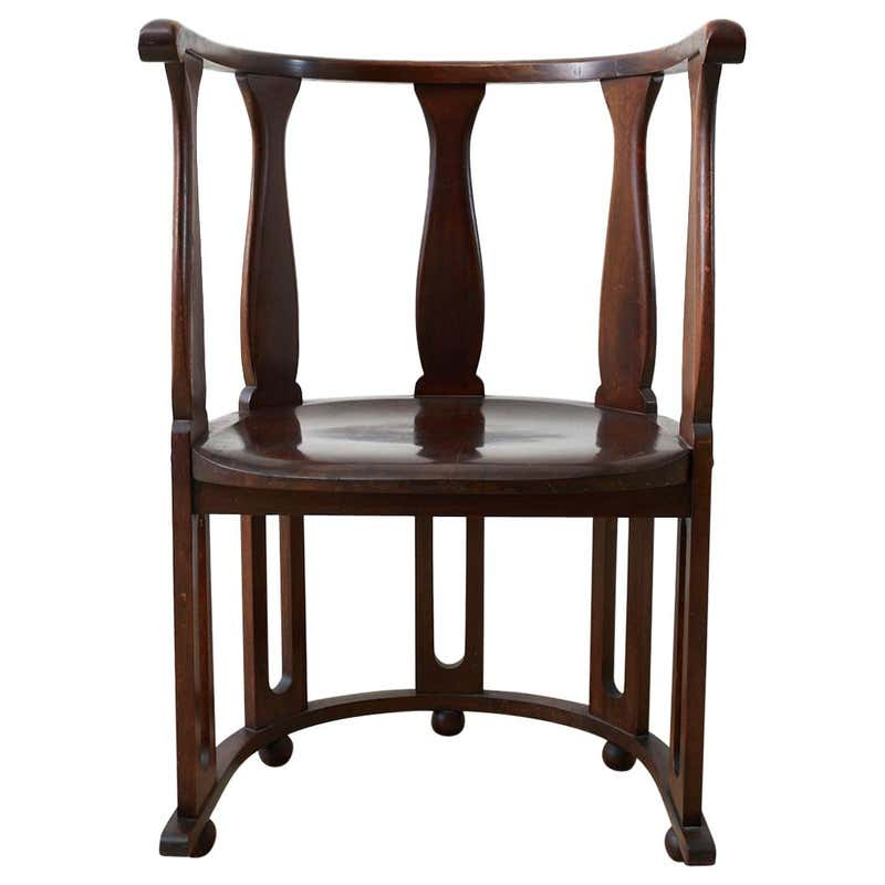 Josef Hoffman Attributed Vienna Secession Armchair #720