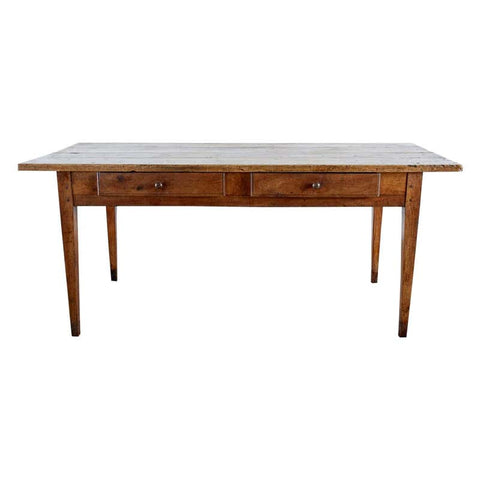 18th Century Country French Farmhouse Work Table or Desk