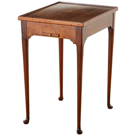 Queen Anne Style Mahogany Flip-Top Game Table